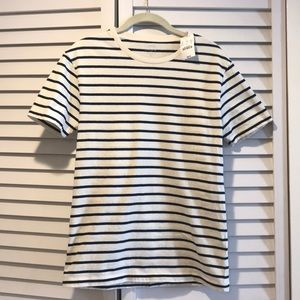 Navy striped t-shirt from J. Crew Factory